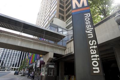 Rosslyn Metro Station. Photo courtesy of the Washington Post.